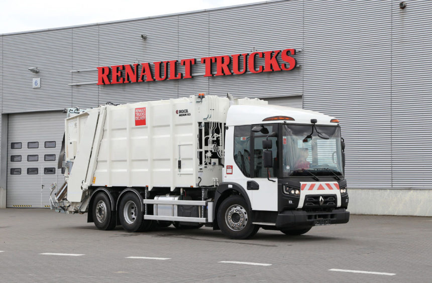 Renault Trucks D Access stworzony dla branży komunalnej!