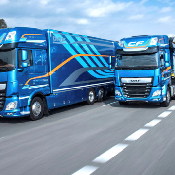 """International Truck of the Year 2018"" dla modeli DAF CF i XF"