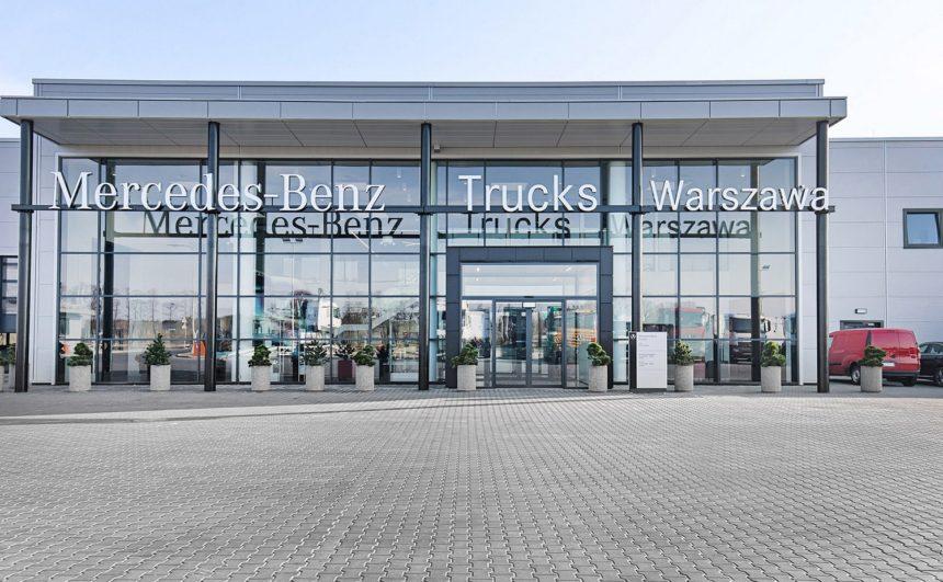 Nowa placówka Mercedes-Benz Trucks w Emilianowie już otwarta