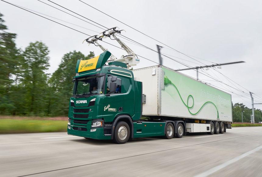 """Pojazdy Scania w projekcie """"Trucks for German eHighways"""""""