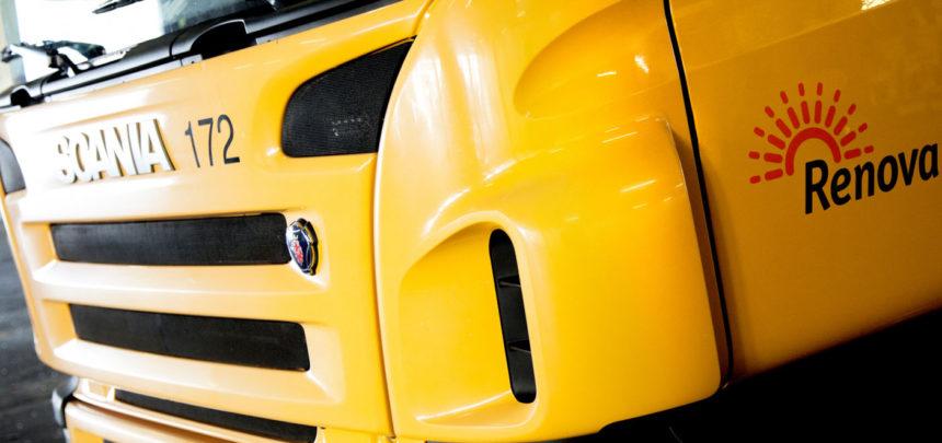 Scania dostarczy śmieciarkę z ogniwem paliwowym