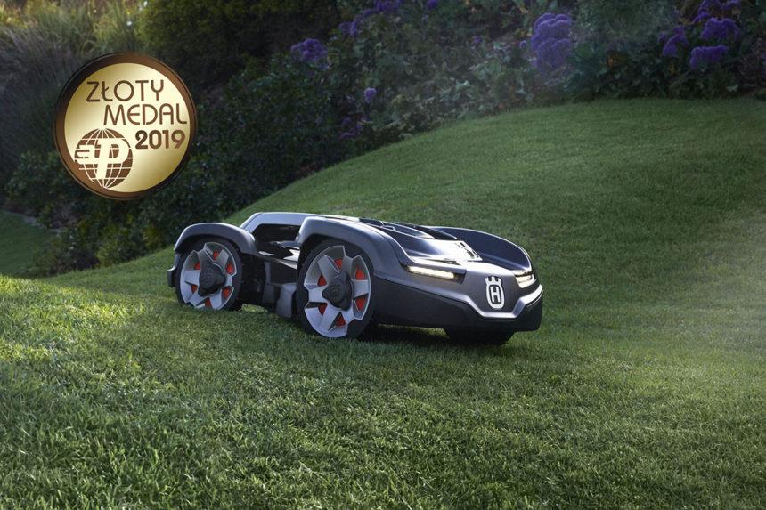 Złoty Medal MTP dla kosiarki automatycznej Husqvarna Automower 435X AWD