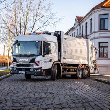 Pierwsza w Polsce Scania L dla Saniko