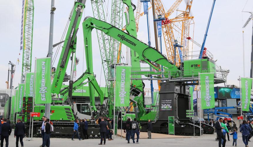 Targi maszyn i pojazdów budowlanych Bauma 2019 – podsumowanie