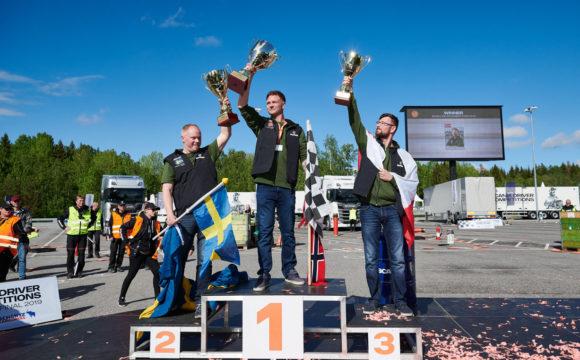 Polak na podium w Konkursie Kierowców Scania 2018-2019