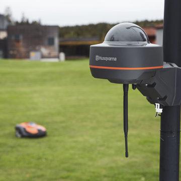 Wirtualne granice dla robotów koszących