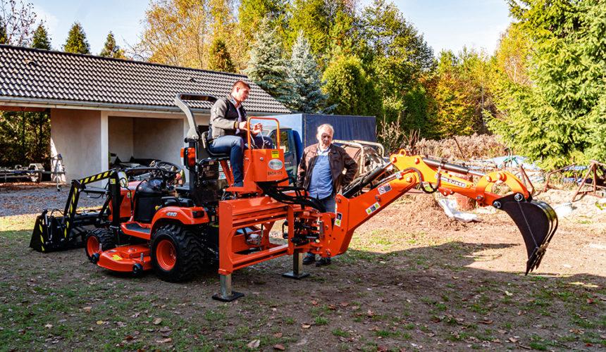 10-tysięczna maszyna Kubota sprzedana w Polsce trafiła do Zawiercia
