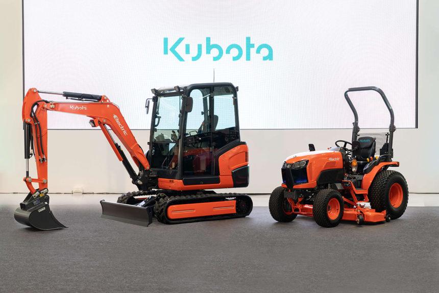Kubota prezentuje prototypy maszyn elektrycznych