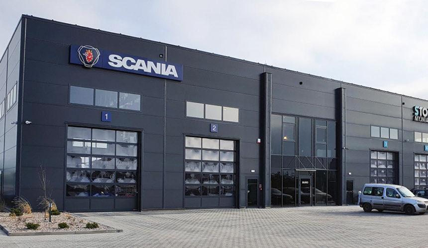 Nowy serwis Scania w Toruniu już otwarty!