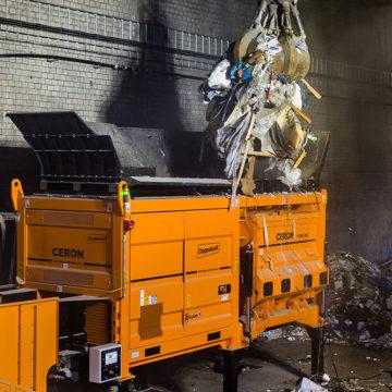 Nowa generacja rozdrabniaczy stacjonarnych Doppstadt Ceron – jeszcze większe możliwości