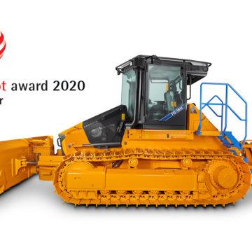 Red Dot Award 2020 dla spycharki Dressta TD-16N