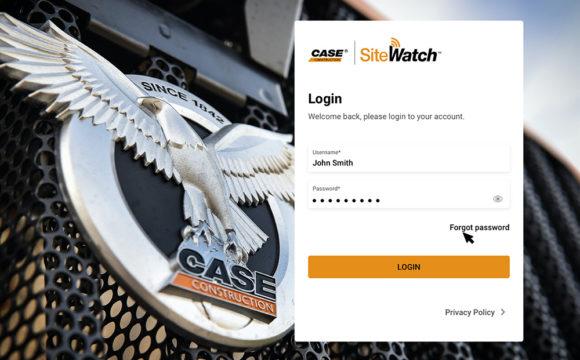 CASE udostępnia nową wersję platformy telematycznej SiteWatch