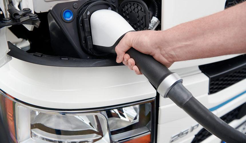 Zelektryfikowane pojazdy Scania