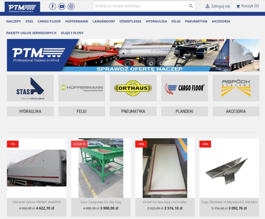 Sklep internetowy PTM Polska
