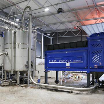 Pierwsza w Polsce kompletna linia do przetwarzania odpadów kuchennych