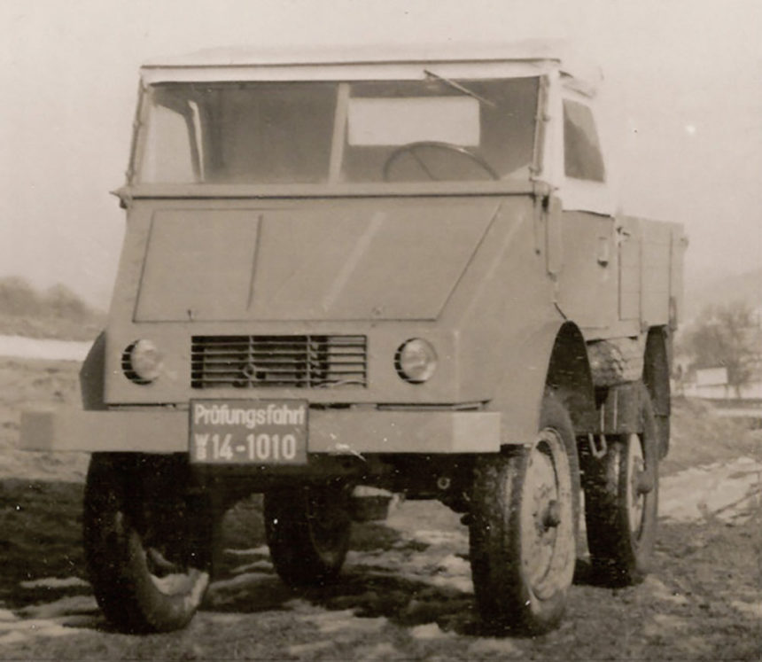 70 lat temu Daimler-Benz kupił Unimoga