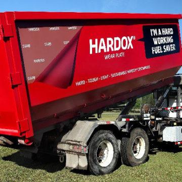 Kontenery hakowe Wastequip ze stali HARDOX 450