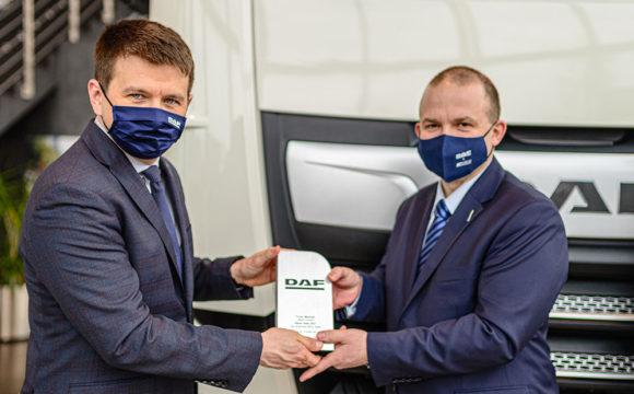 X edycja konkursu na Dealera Roku DAF w Polsce rozstrzygnięta!