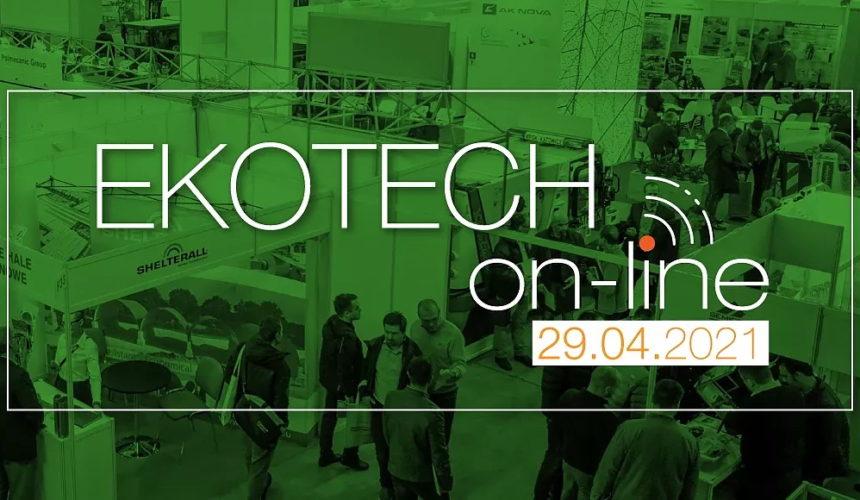 Już jutro EKOTECH w wersji on-line