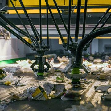 Roboty sortujące w ofercie STEINERT