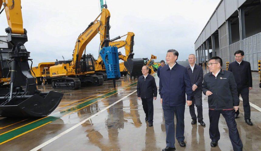 Prezydent Chin z wizytą w LiuGong