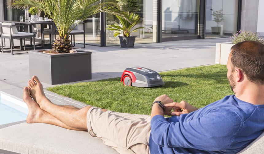 Roboty koszące Robolinho pozwalają zaoszczędzić czas